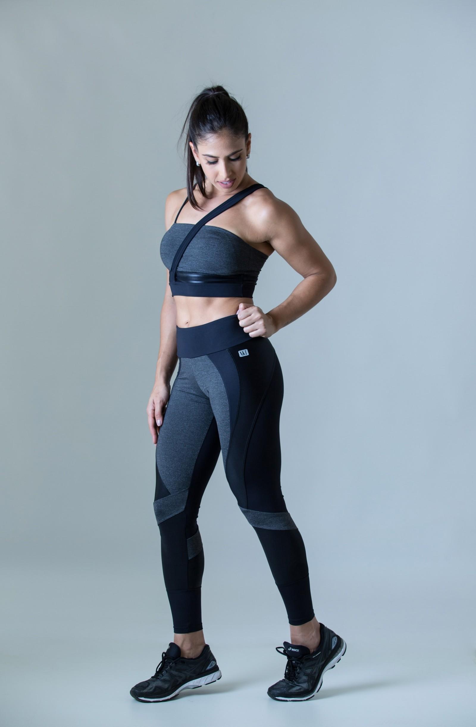 Legging Fullness Preto, Coleção Plenitude - NKT Fitwear Moda Fitness