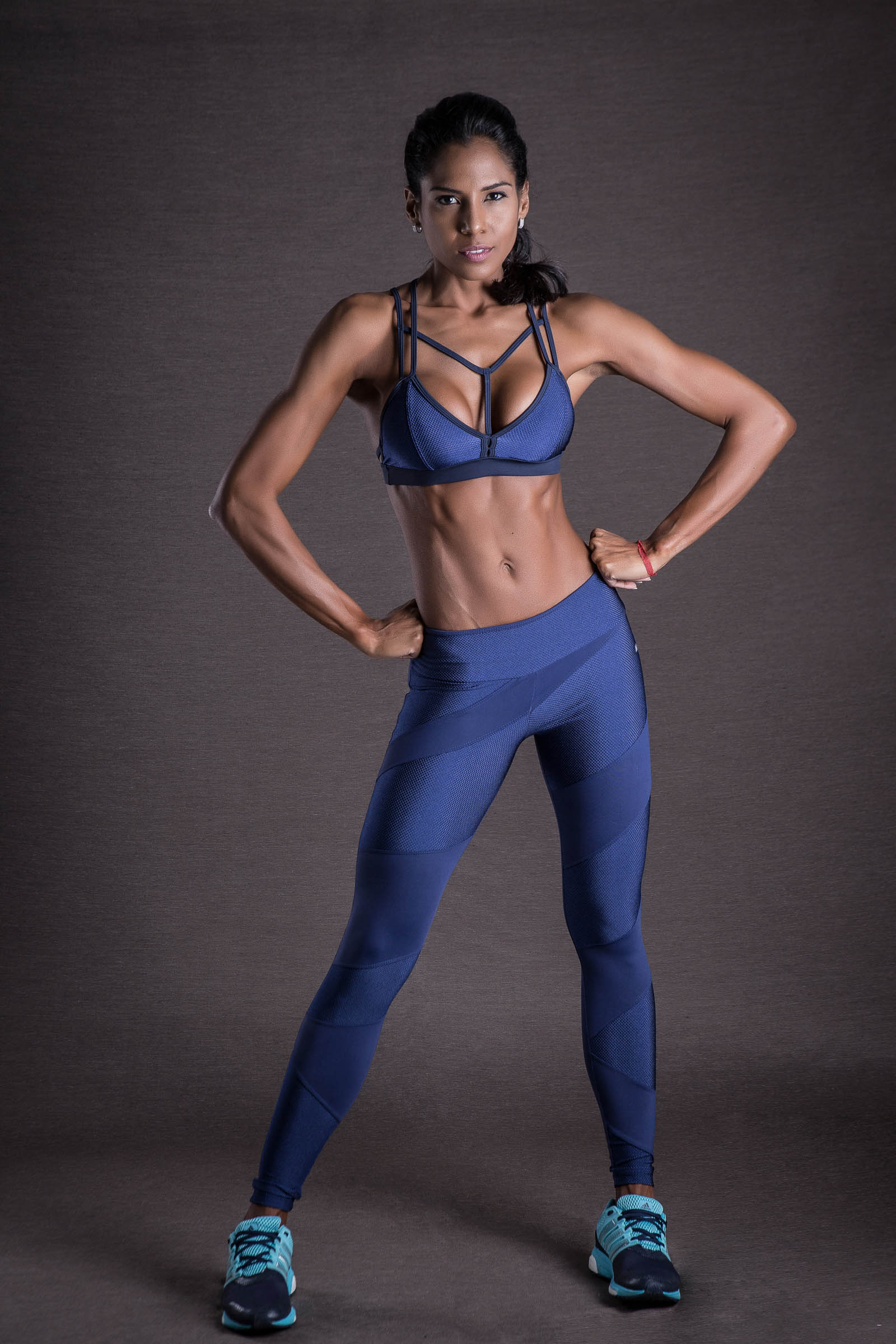 Top Energy Marinho, Coleção You can - NKT Fitwear Moda Fitness