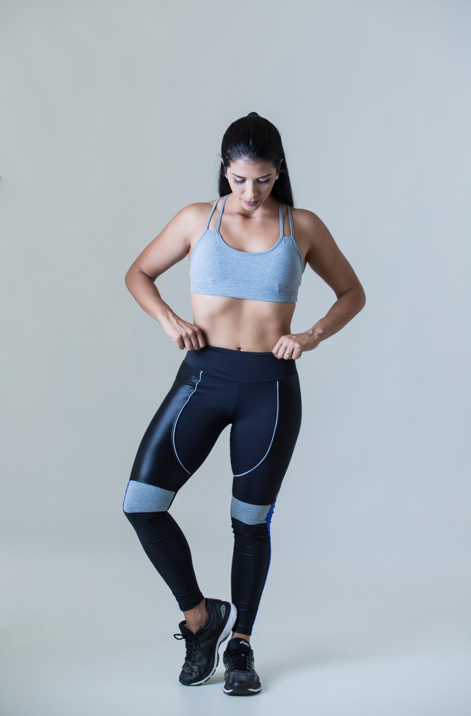 Legging Perfection Mescla, Coleção Plenitude - NKT Fitwear Moda Fitness