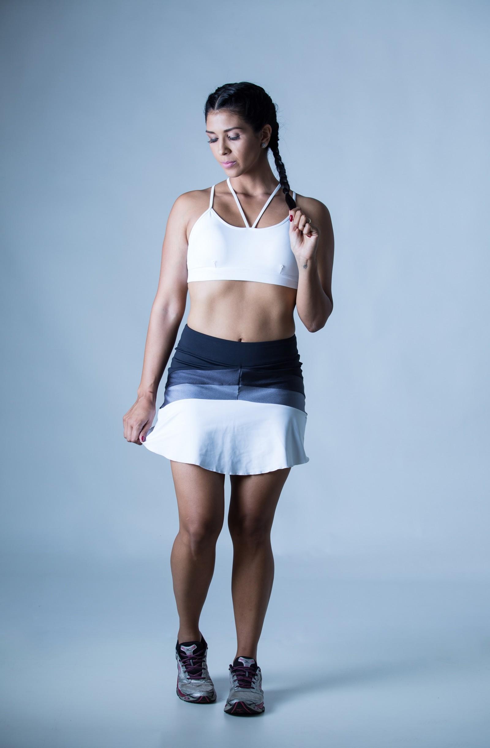 Top Modern Branco, Coleção Plenitude - NKT Fitwear Moda Fitness