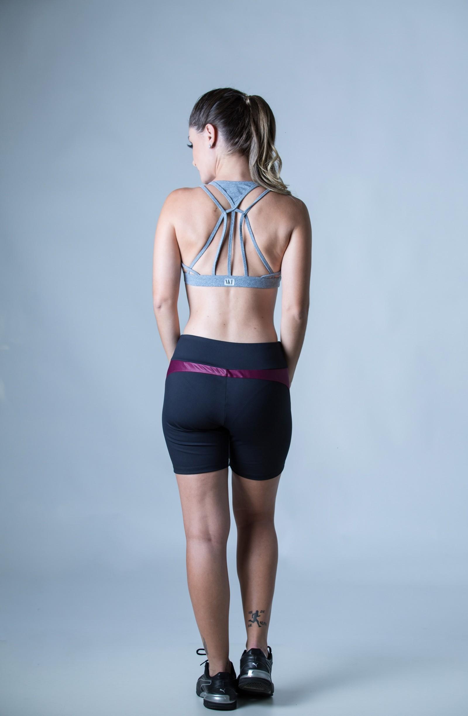 Top Energy Mescla, Coleção Plenitude - NKT Fitwear Moda Fitness