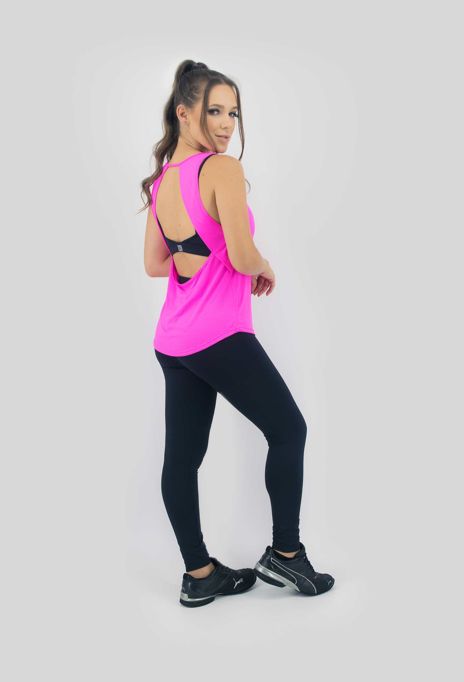 Regata Lux Pink, Coleção Move Your Body - NKT Fitwear Moda Fitness