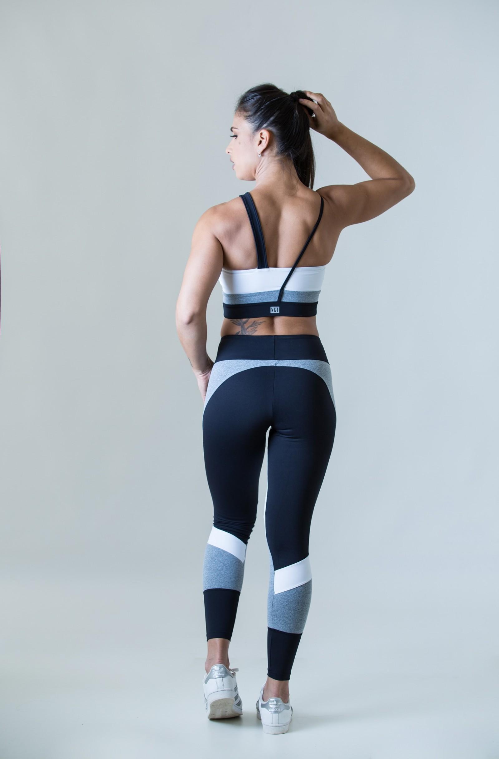 Legging Fullness Mescla, Coleção Plenitude - NKT Fitwear Moda Fitness