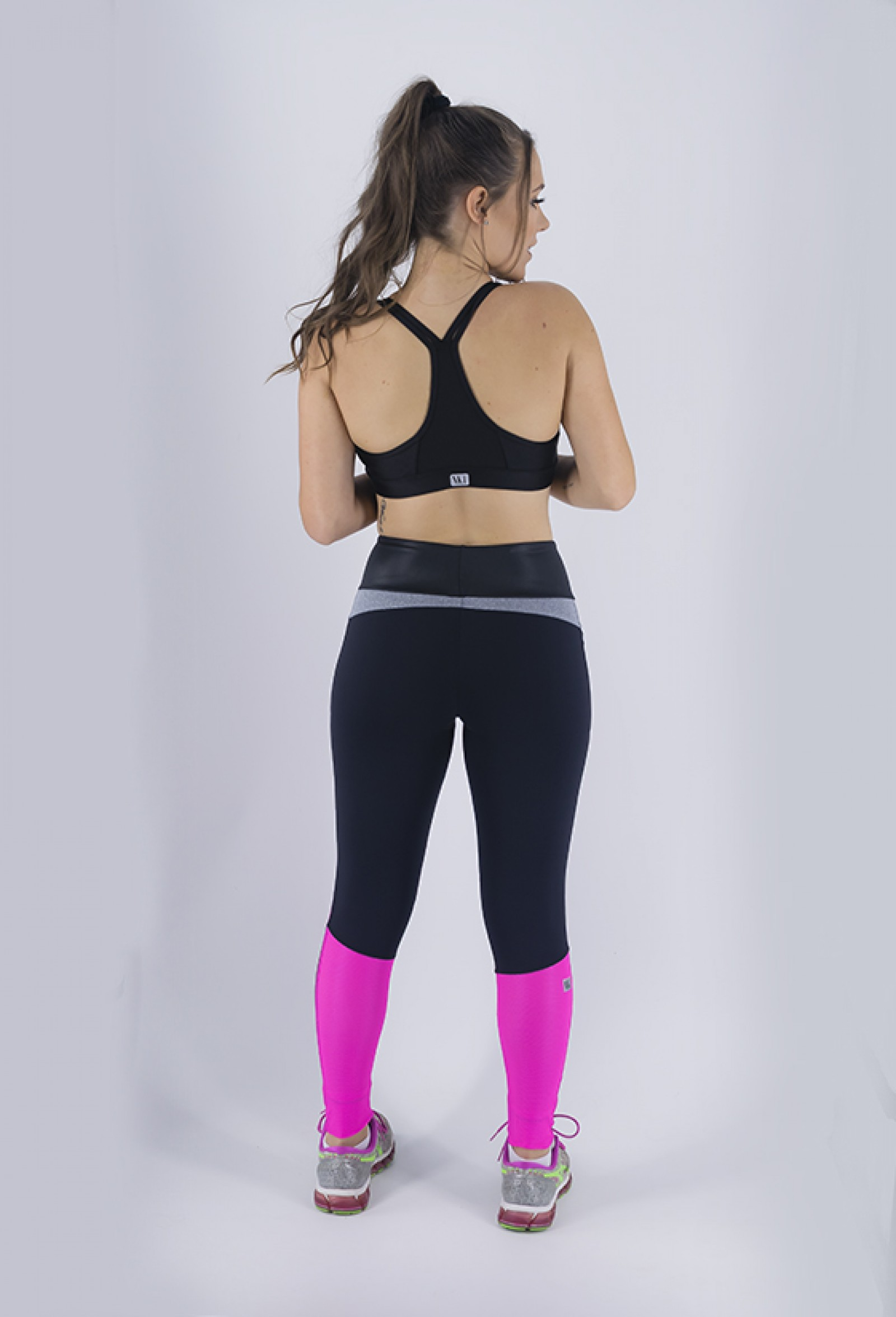Top Perfection Preto, Coleção Just For You - NKT Fitwear Moda Fitness