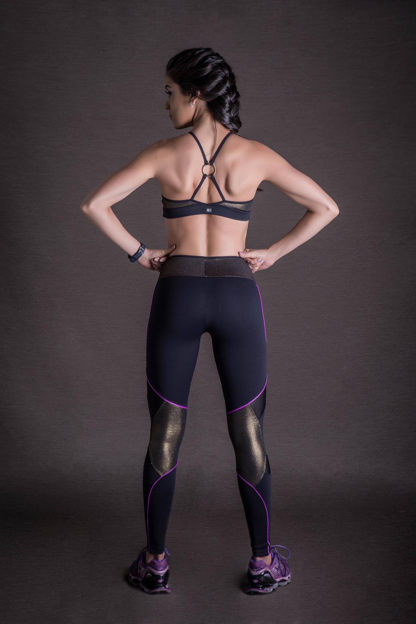 Legging Infinity Dourado, Coleção You can - NKT Fitwear Moda Fitness