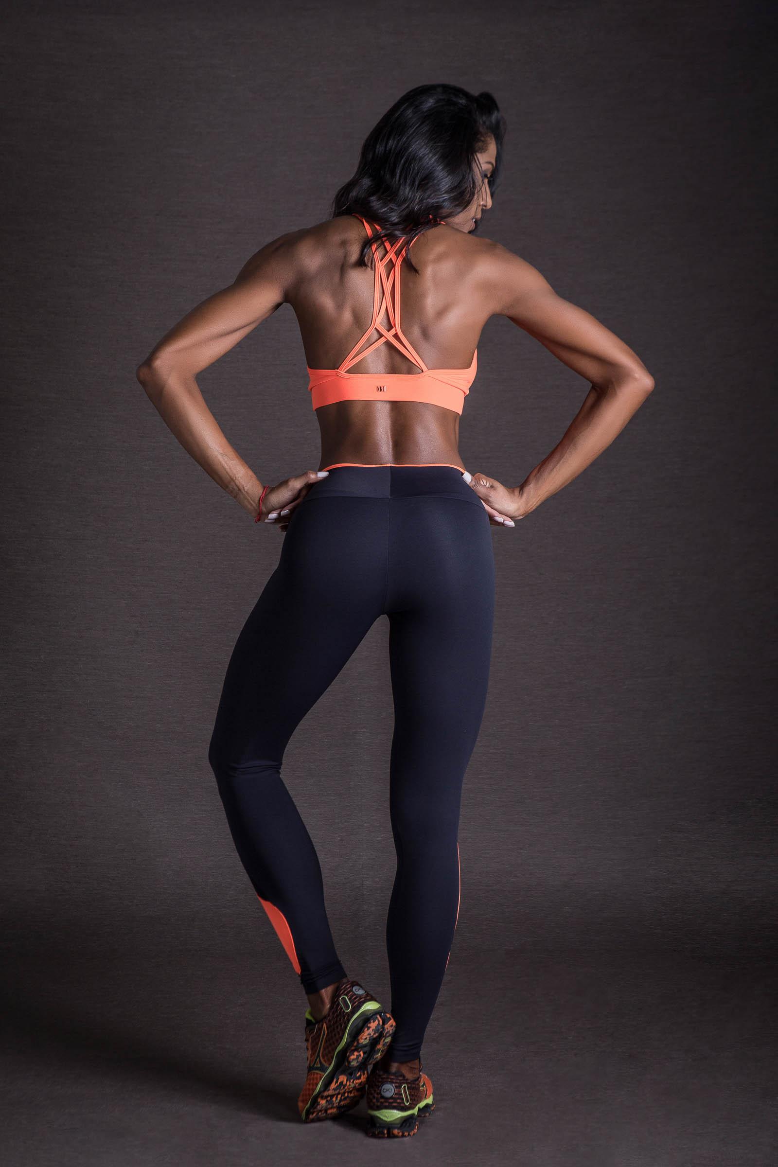 Top Evolution Laranja Neon, Coleção You can - NKT Fitwear Moda Fitness