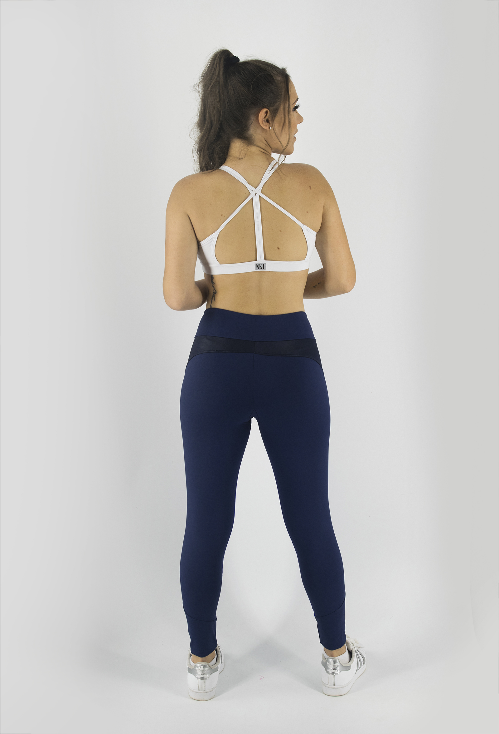 Top Bring Branco, Coleção Just For You - NKT Fitwear Moda Fitness