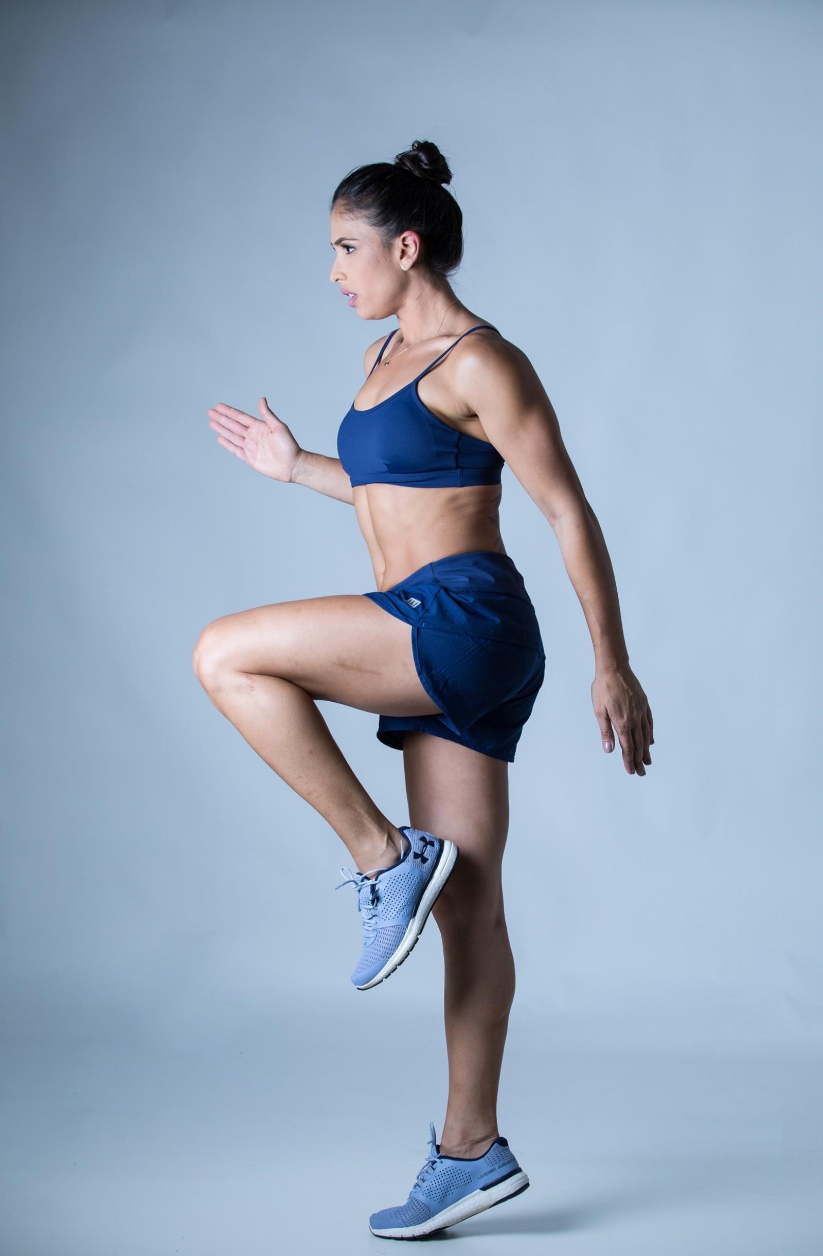 Shorts Only Marinho, Coleção Plenitude - NKT Fitwear Moda Fitness