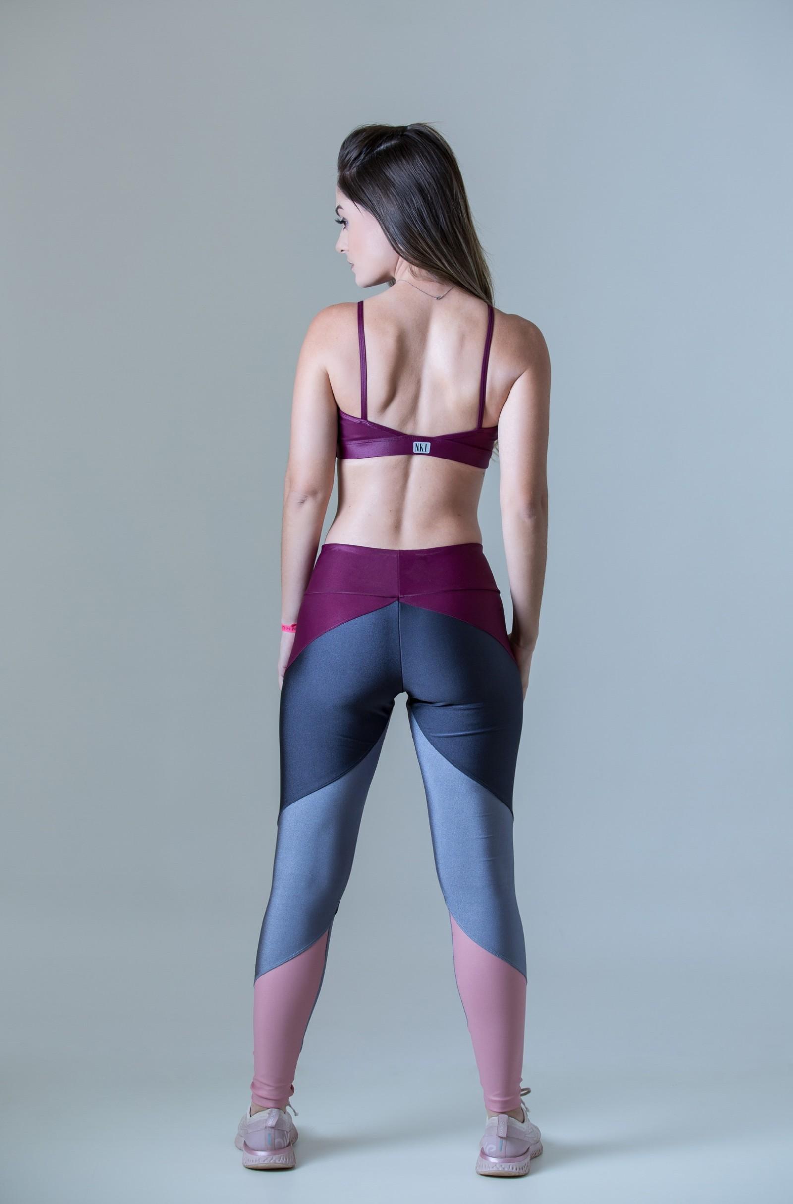 Top Profusion Lacca, Coleção Plenitude - NKT Fitwear Moda Fitness