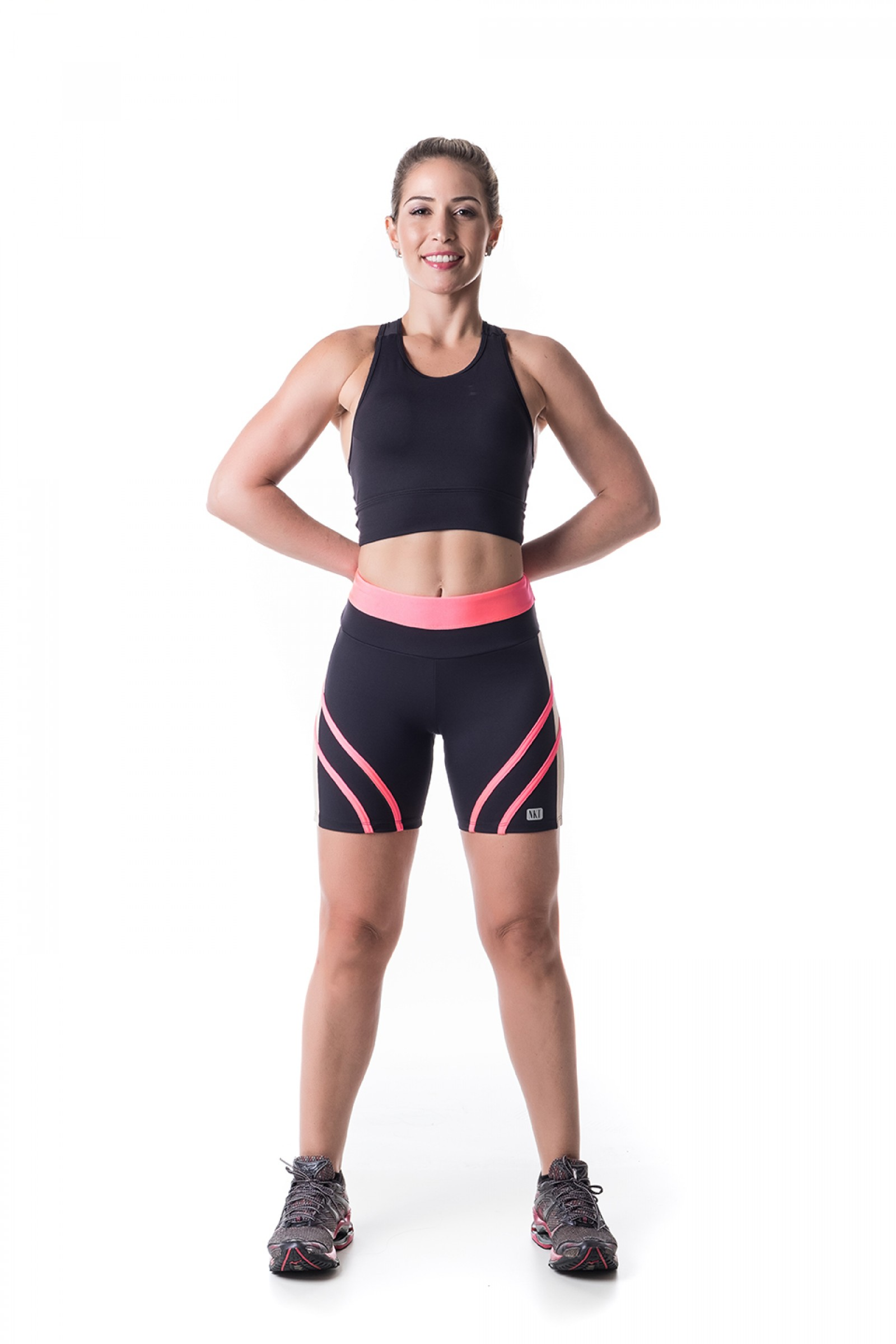 Bermuda Transform Glow, Coleção Challenge - NKT Fitwear Moda Fitness