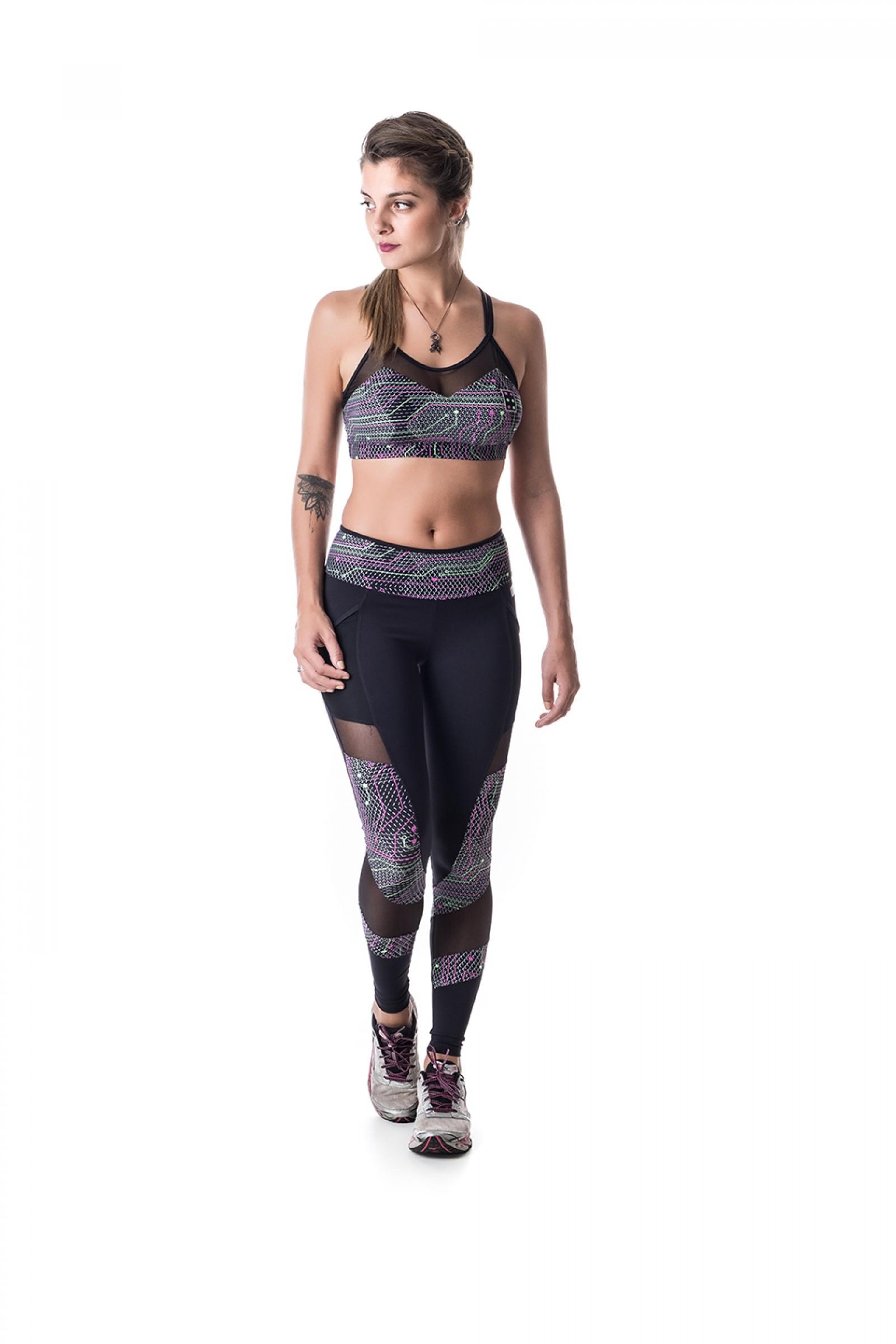Legging Best Reflet, Coleção Challenge - NKT Fitwear Moda Fitness