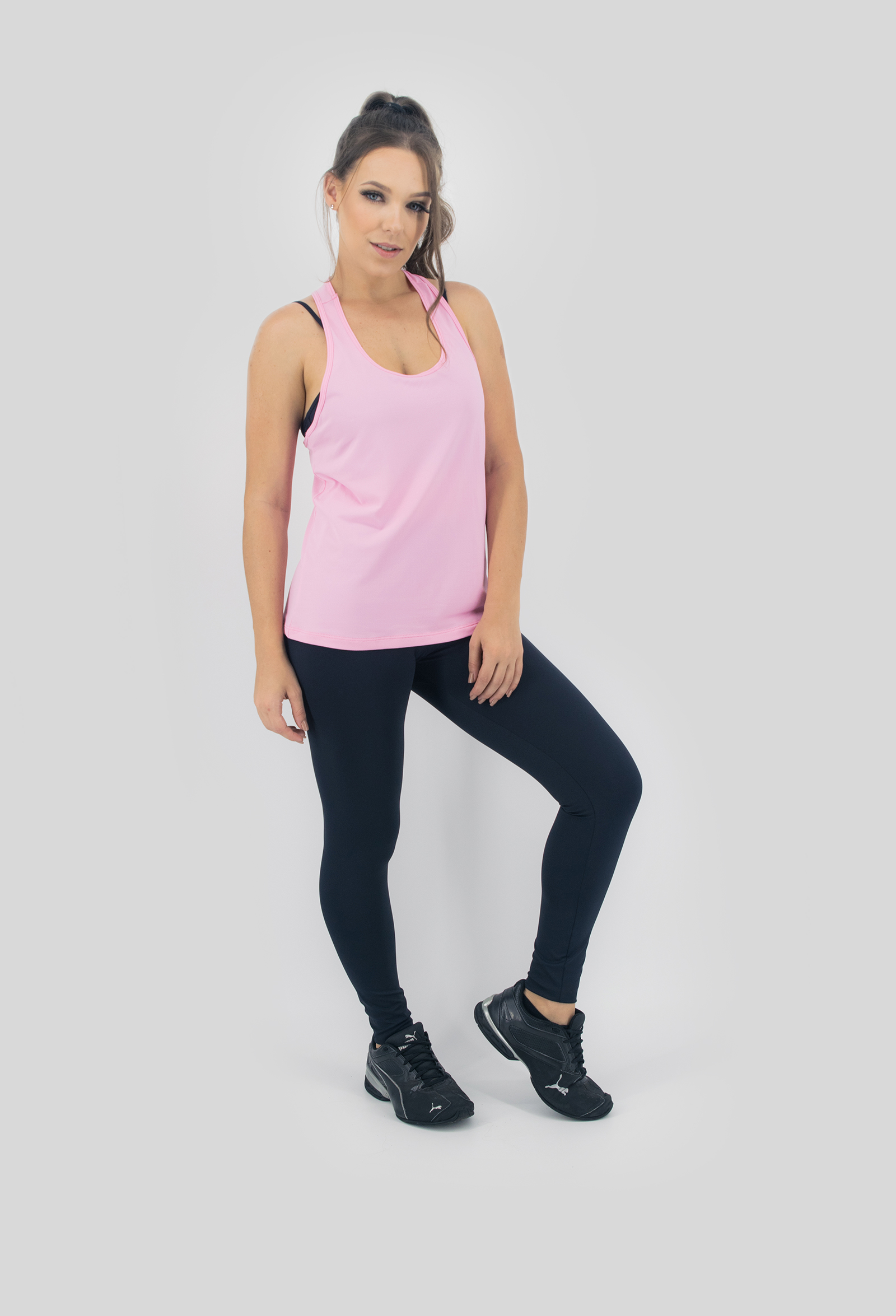 Regata NKT Rosa, Coleção Move Your Body - NKT Fitwear Moda Fitness