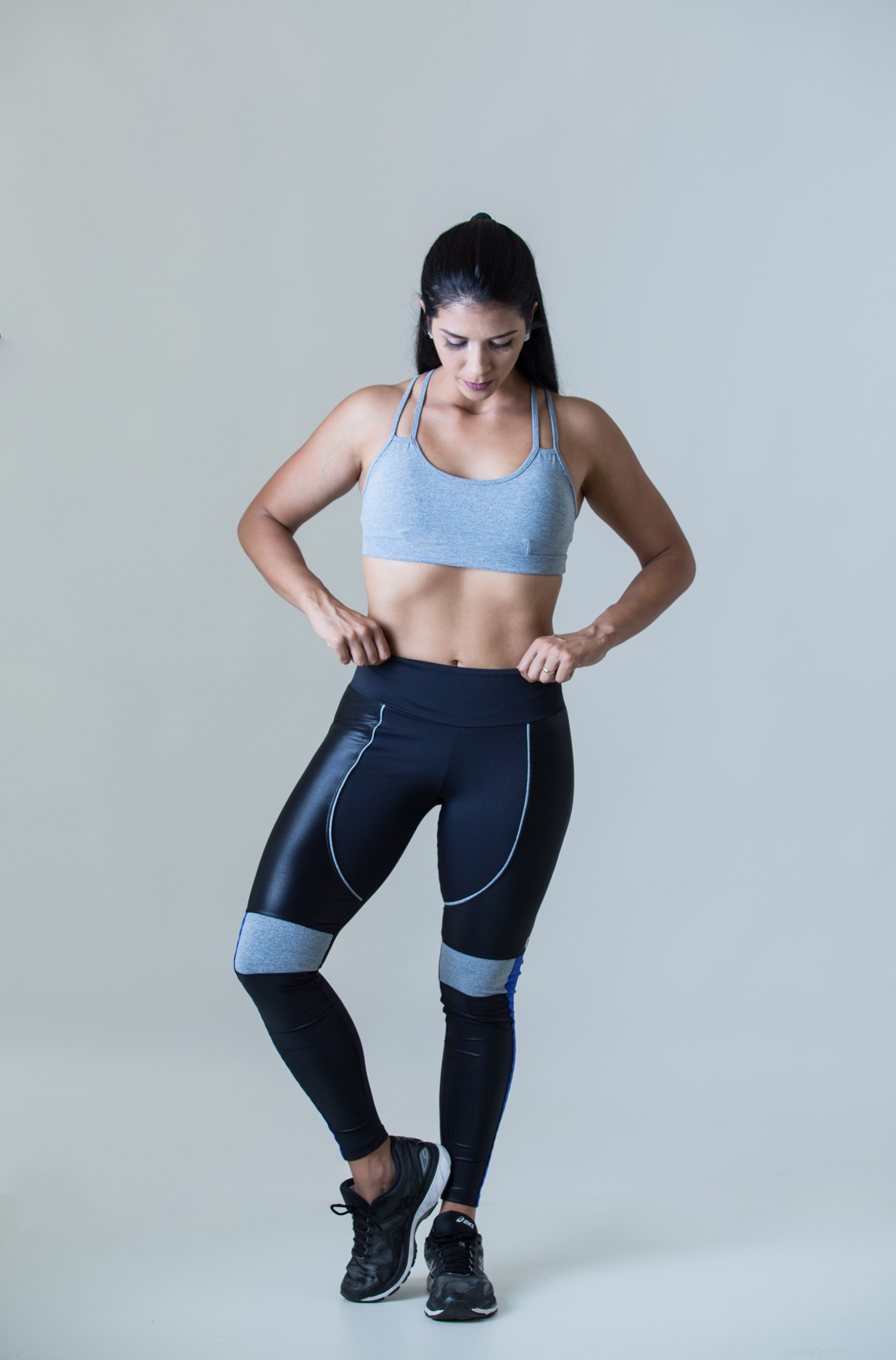 Top Perfection Mescla, Coleção Plenitude - NKT Fitwear Moda Fitness