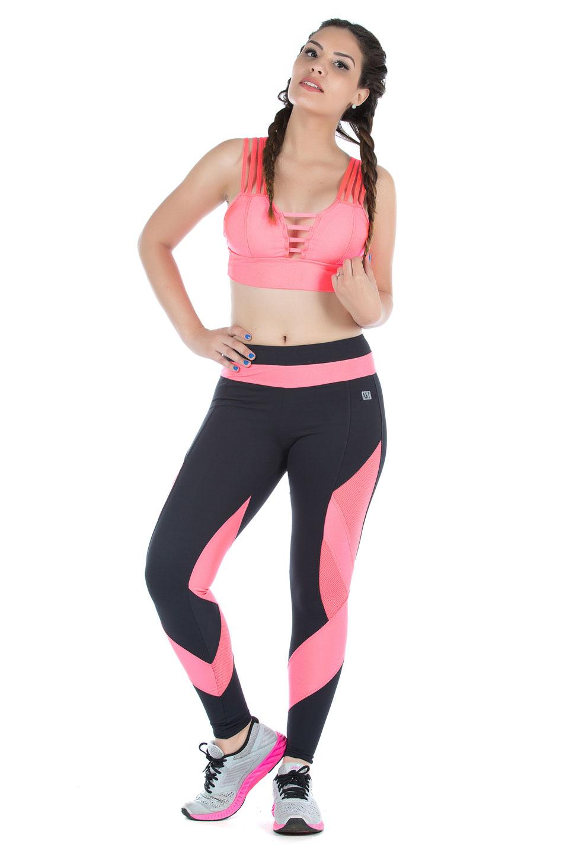 Legging Fun Glow, Coleção Mulheres Reais - NKT Fitwear Moda Fitness