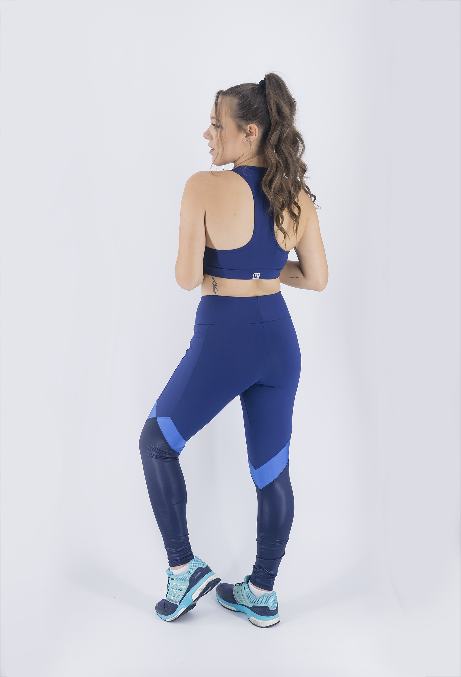 Legging Set Marinho, Coleção Just For You - NKT Fitwear Moda Fitness