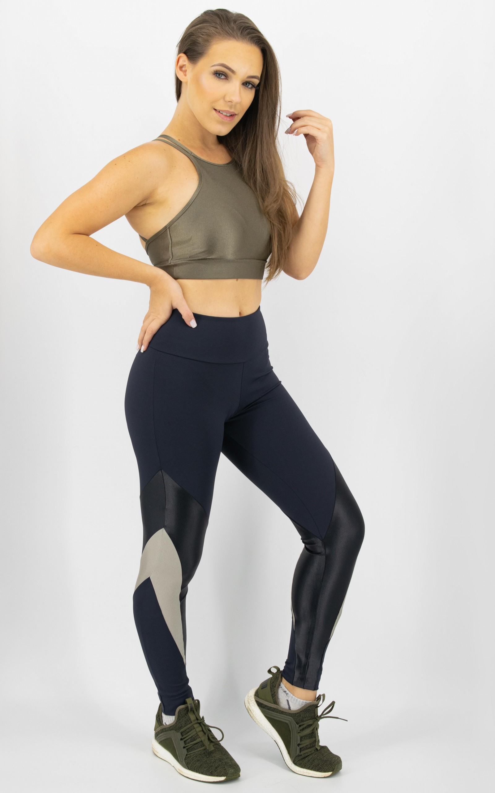 Legging Arrow Champagne, Coleção Move Your Body - NKT Fitwear Moda Fitness
