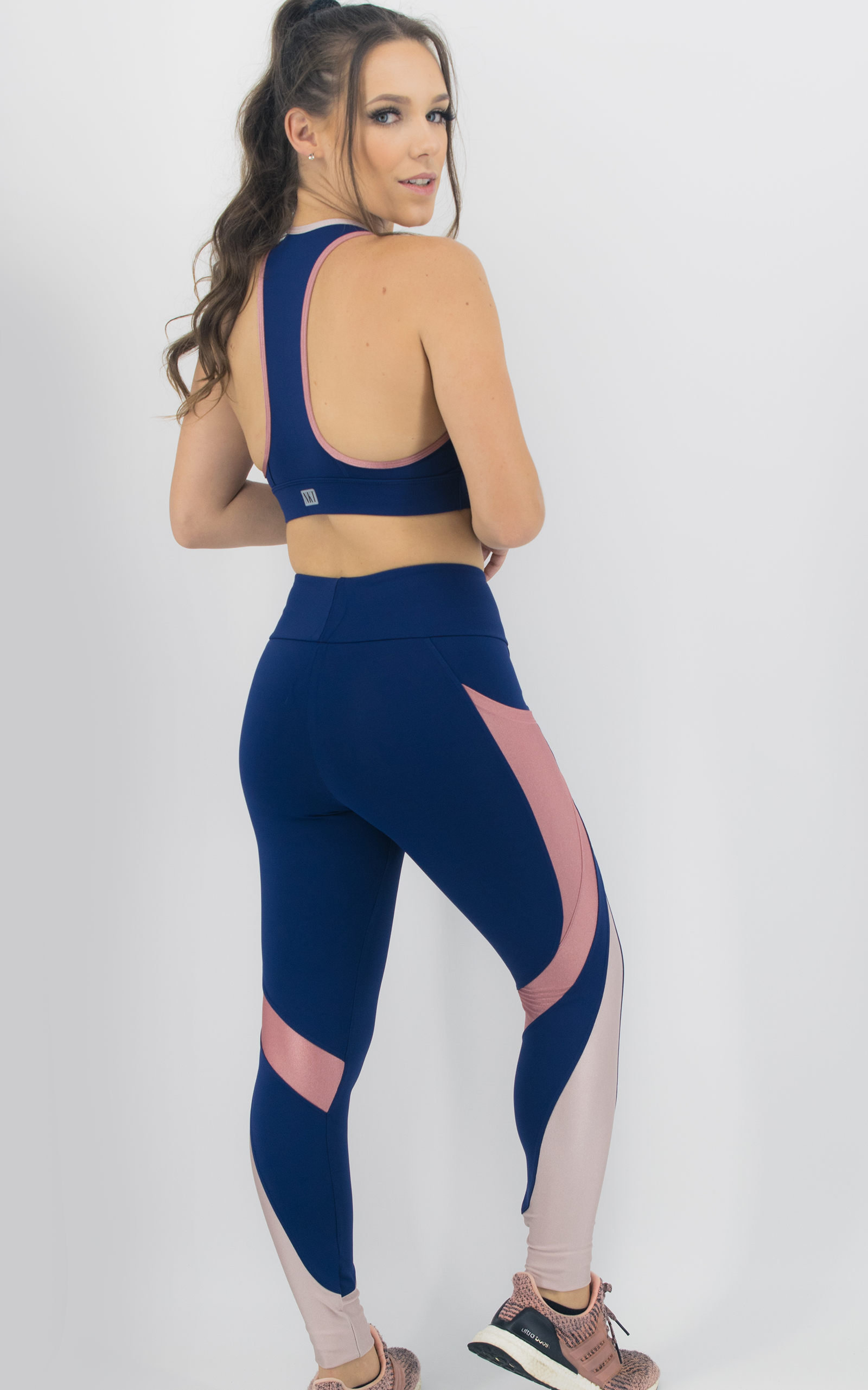 Top Expression Coral, Coleção Move Your Body - NKT Fitwear Moda Fitness