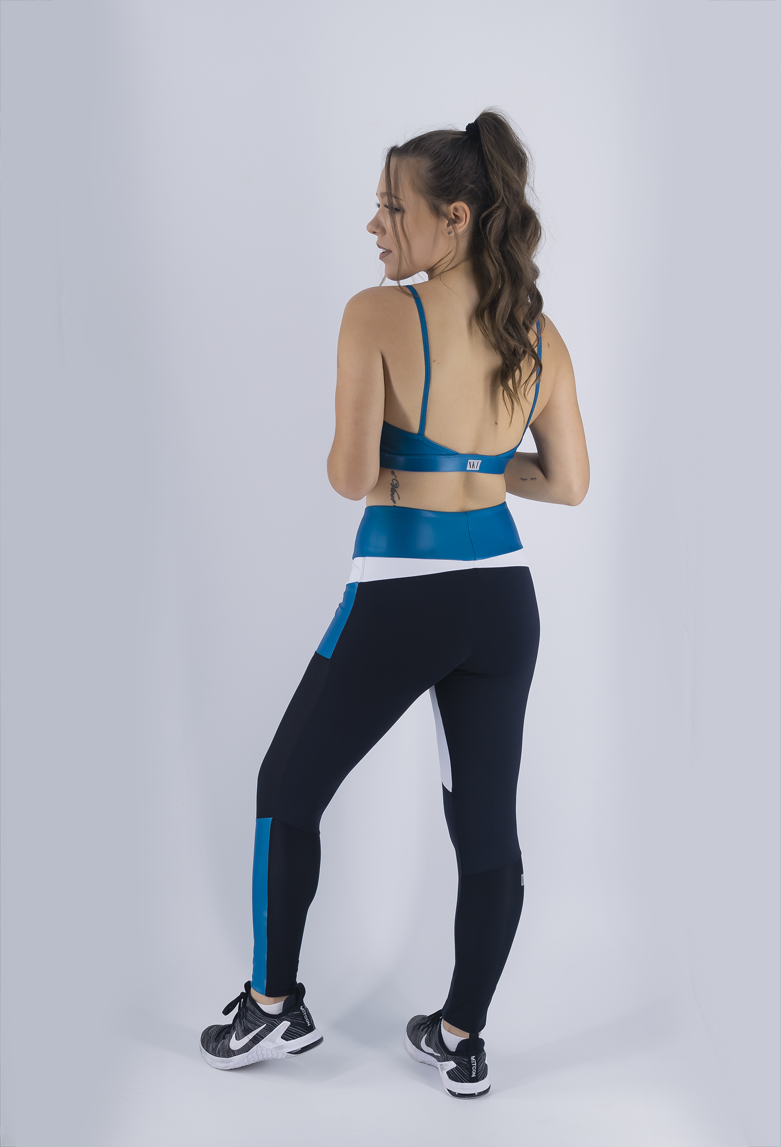 Legging Win Petróleo, Coleção Just For You - NKT Fitwear Moda Fitness