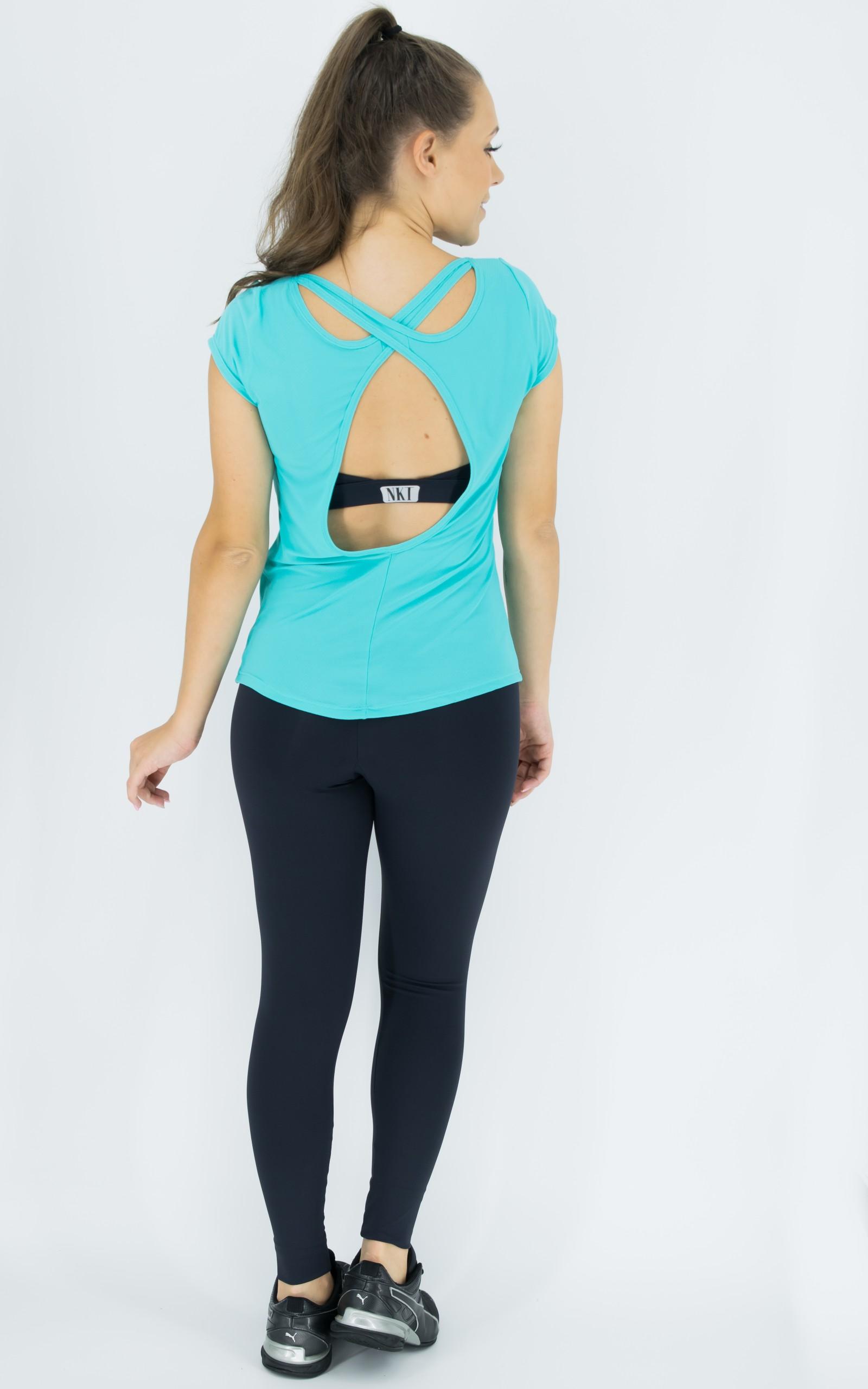 Blusa Special Azul, Coleção Move Your Body - NKT Fitwear Moda Fitness