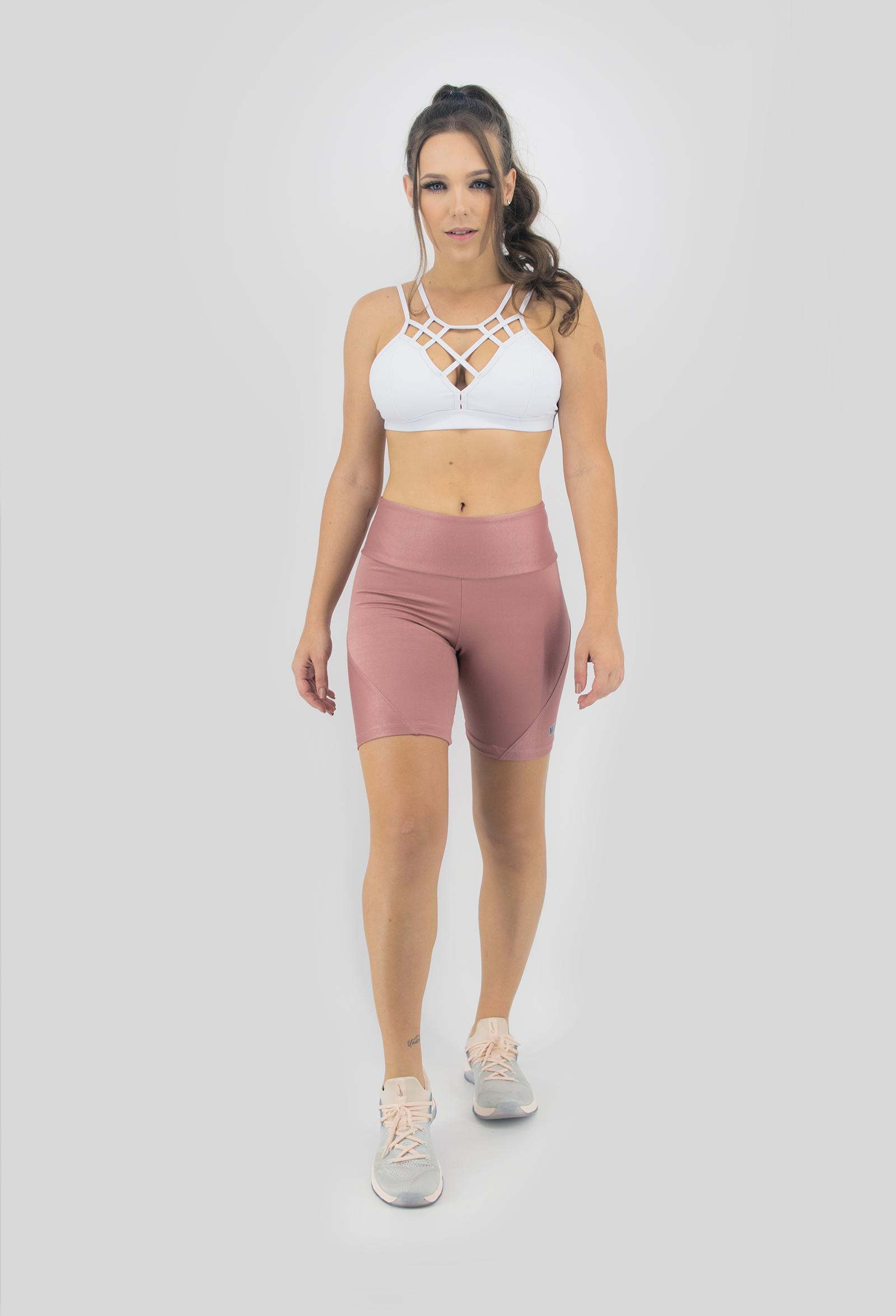 Top Tiras Branco, Coleção Move Your Body - NKT Fitwear Moda Fitness